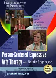 research on person centered expressive arts therapy I'm hesitate to use the term expressive therapy because all therapies are expressive to some degree with that being said, our discussion this.